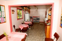 Kitchen TV Lounge